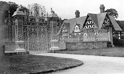 Chirk Castle Gates and Lodge